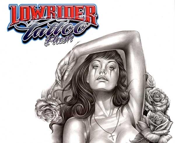 Lowrider - Chicano Tattoo Flash