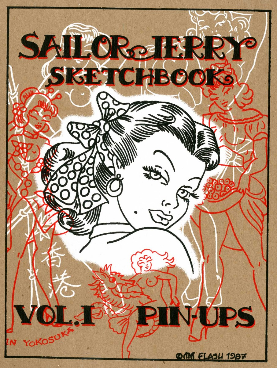 Pin Ups Vol 1 Money Makers Sketchbooks Books Gentlemans Tattoo Flash